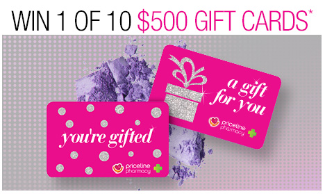 Win 1 of 10 $500 Gift Cards