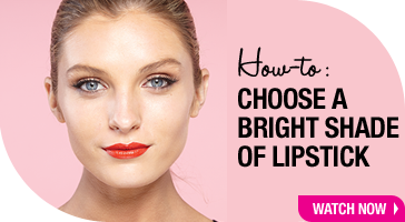 How to choose a bright shade of lipstick