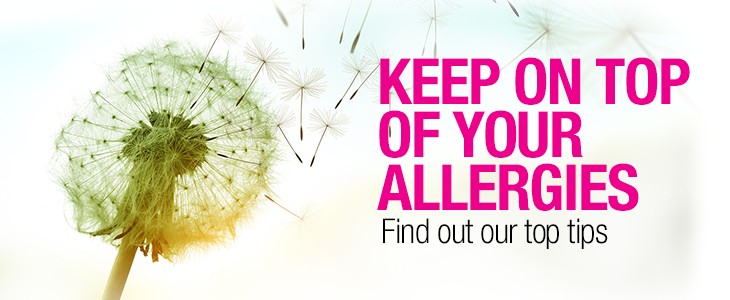 Top Tips to Keep on Top of Your Allergies
