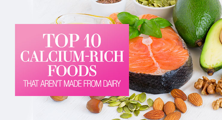 Top 10 Calcium-Rich Foods
