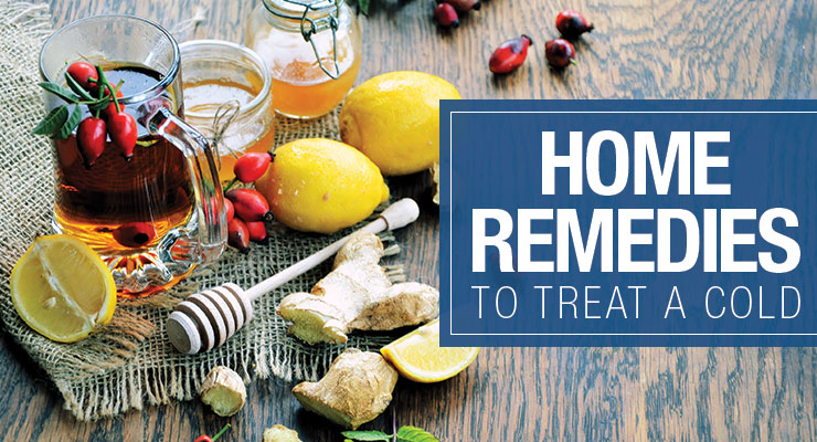 Home Remedies to Treat a Cold