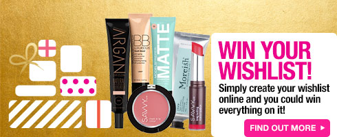 Win your Wishlist Competition - enter now!