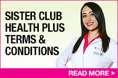 Sister Club Health Plus Terms and Conditions