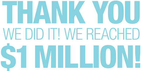 we reached $1 Million THANK YOU