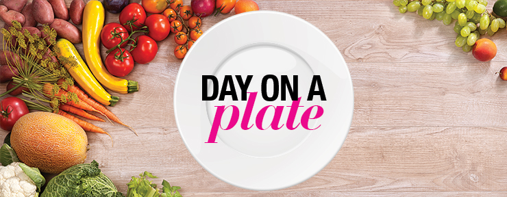 Day on a plate with Steph Prem